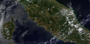 Italia - Satellite giugno 2016