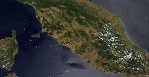 Italia - Satellite giugno 2017