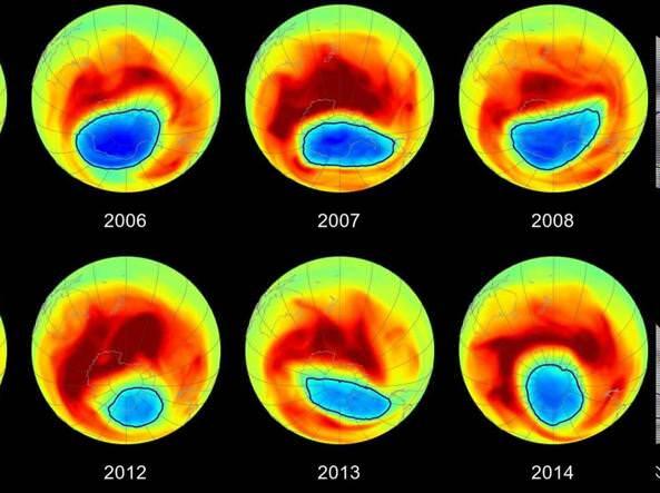 Il buco dell'ozono: cos'è, perchè si forma e dove si trova