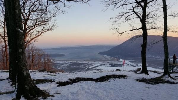 Monti Cimini: Panorama sul Lago di Vico e sul Monte Fogliano