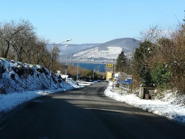 Monti Cimini: il lago di Vico e il Monte Venere visti da Ronciglione
