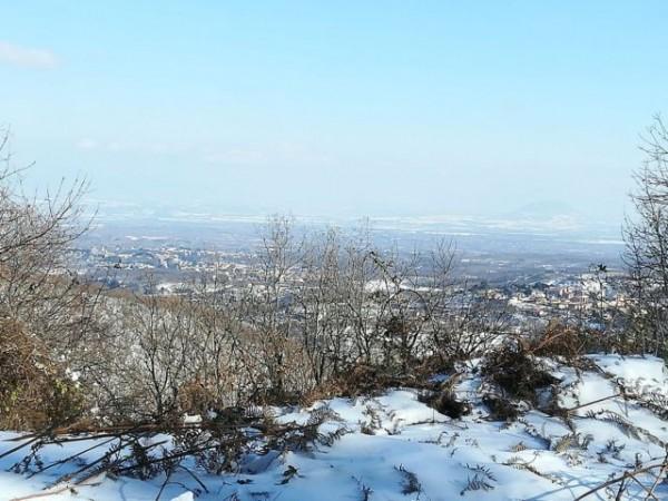 Monti Cimini: Vista dall'Ostello ai piedi del Monte Cimino