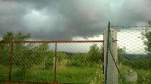 Il fortissimo temporale del 15 Giugno 2014 a Villa San Giovanni in Tuscia (VT)