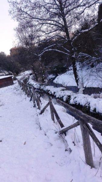 Corchiano con la neve