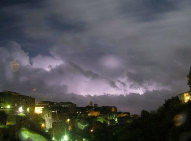 Riepilogo meteorologico dell'estate 2019 a Caprarola